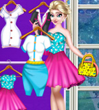 Ice Queen Closet Dress Up
