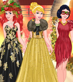 Princesses Christmas Fashion Show