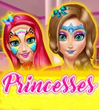 Princesses Room Face Painting