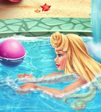 Sleeping Princess Swimming Pool