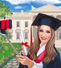 Arianas Graduation Day