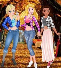 Princess Fall Flannels