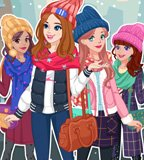 Winter Top Model Dress Up