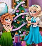 Sisters Christmas Room Prep