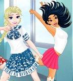 Princess Mannequin Challenge