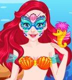 Mermaid Face Art