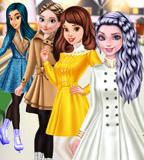 Princesses Go Ice Skating