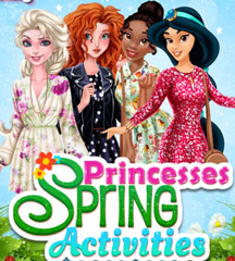 Princesses Spring Activities