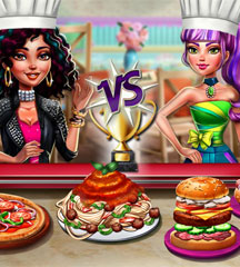 Fashion Girls Cooking Contest