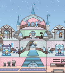 Ice Princess Doll House