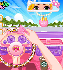 Princess Car Dashboard