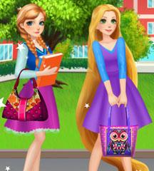 Princess College Bag