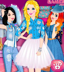 Princesses Denim Collection