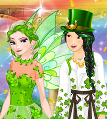 Princess St Patrick's Party