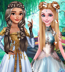 Princesses Fantasy Hairstyles