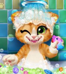 Rusty Kitten Bath