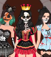 Supermodel Spooky Makeup